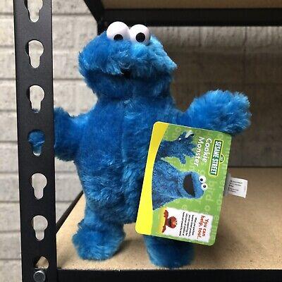 "Sesame Street Cookie Monster 9"" Plush Toys GUND 2005 Soft"