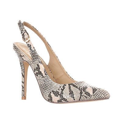 Stiletto Heel Slingback Pumps - Riverberry Women's Lucy Pointed-Toe Sling Back Pump Stiletto Heels