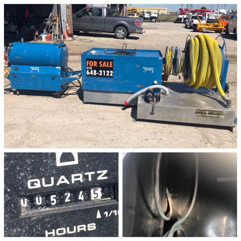 Bane Clene Portable Unit Truck Van Mount Water Tank Base Hoses Commercial Carpet