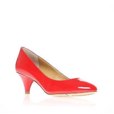 SWAYMESO3 NINE WEST PATENT RED WOMENS LADIES SHOE