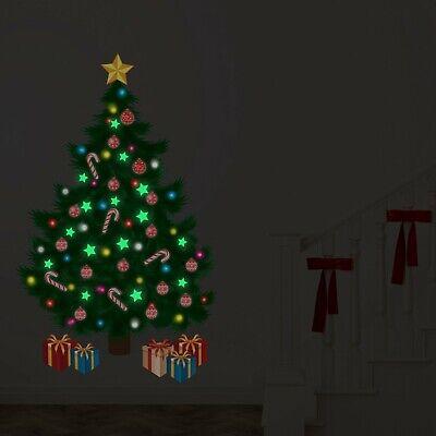 Walplus Starring night by the Christmas tree Wall Sticker Decal Art -