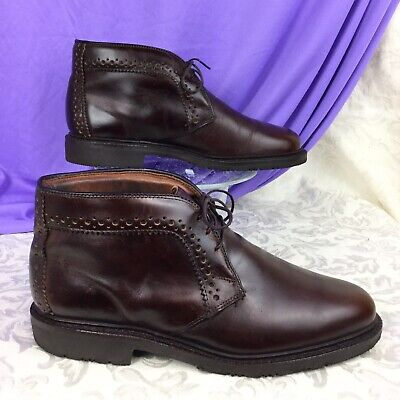 rare ALLEN EDMONDS BELLEVUE Chukka Desert Ankle Brogue Oxford Boot men's (Bellevue Square Bellevue)