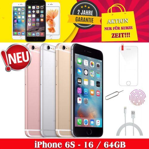 ☀️Apple iPhone 6S 16GB 64GB Smartphone Spacegrau / Silber / Gold / Rosegold NEU