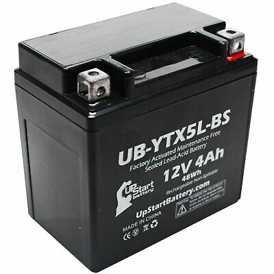 Battery for 2004 - 2012 Polaris Predator, Outlaw 50CC