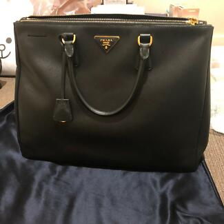 Authentic Prada Saffiano Large Tote