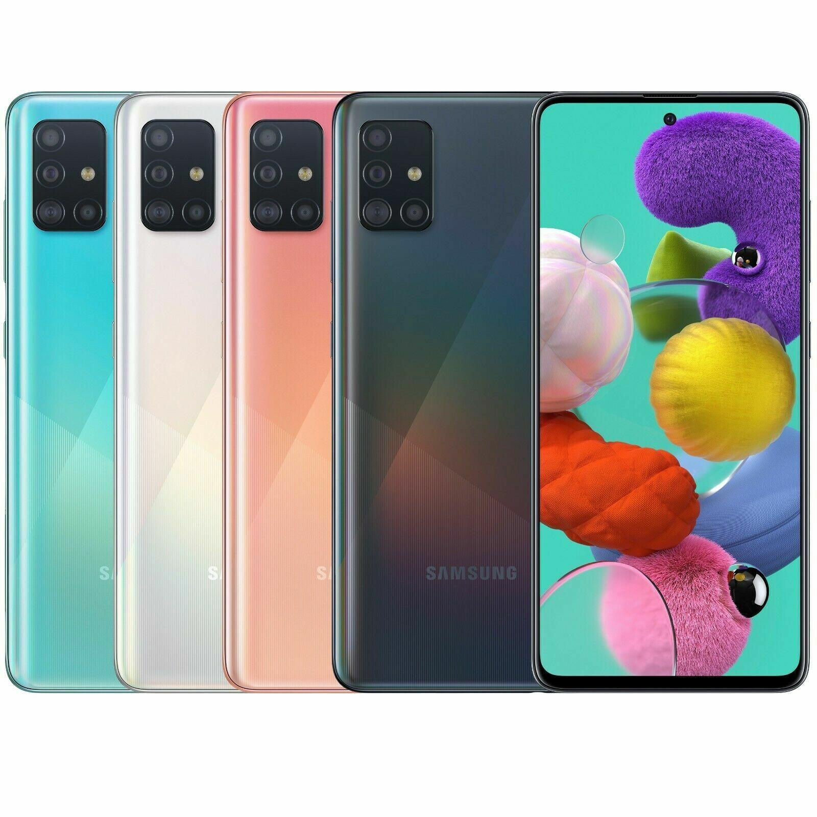 "Android Phone - Samsung Galaxy A51 A515F-DSN (Dual SIM 128GB/6GB 48MP 6.5"") Smartphone Unlocked"