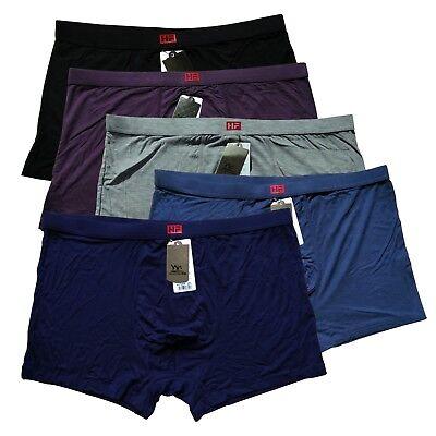 (Men's natural Bamboo Healthy Soft underpants Boxer Briefs  US SZ M/ L / 2XL)