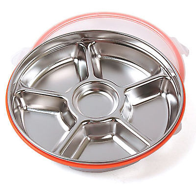 Stainless Steel Kitchen Food Storage Airtight Container Side Dish Circle No.4