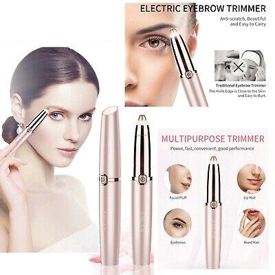 Recortador Eléctrico Indoloro De Cejas Depiladora Sensitive Maquillaje Precision