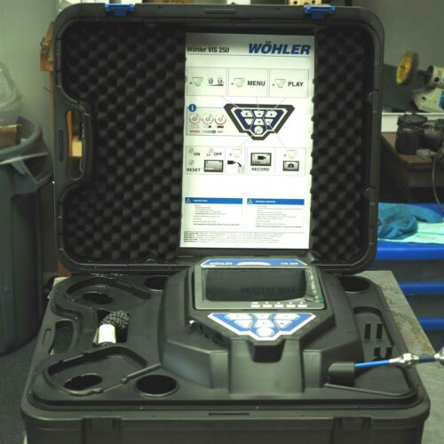 💎 BRAND NEW Wohler USA VIS 250 (6253) Visual Video Inspection Camera + SD Card