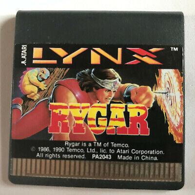 Rygar / Cart Only / Atari Lynx Game