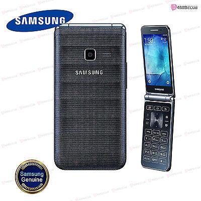 "New! Samsung Galaxy Folder SM-G150 UNLOCKED TFT 3.8"" QUAD-CORE 1.2GHz [Black]"