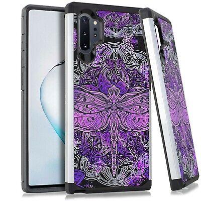 Hybrid Slim Case For Samsung NOTE 10 / 10 PLUS Phone Cover - PURPLE -