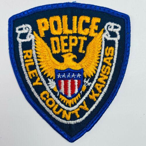 Riley County Police Kansas KS Patch
