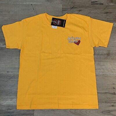 Devils Fork (Arizona State Sun Devils Fork 'Em Kids Yellow T-Shirt Youth Medium NWT)