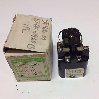 General Electric 10amp 240v 40hz Relay 2790e100a96 103045