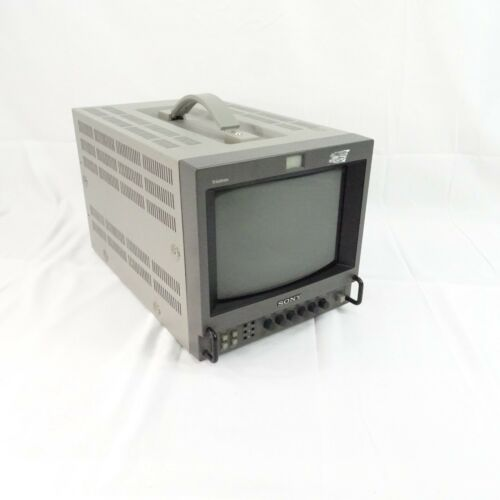 "Sony PVM-8041Q Trinitron Color Video Monitor 8"" CRT"