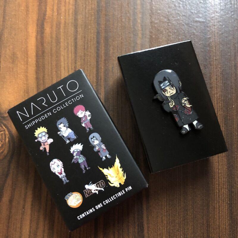 BIOWORLD NARUTO SHIPPUDEN COLLECTION BLIND BOX ENAMEL PIN - ITACHI UCHITA