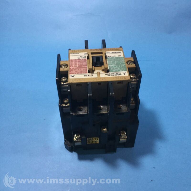 MITSUBISHI ELECTRIC S-K50 MAGNETIC CONTACTOR USIP
