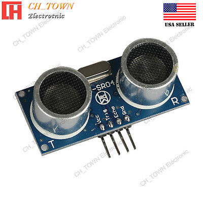 Hc-sr04 Ultrasonic Distance Measuring Transducer Sensor Module For Arduino Usa