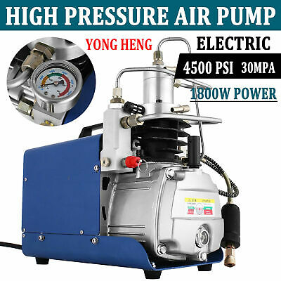 Yong Heng 30mpa Air Compressor Pump 110v Pcp Electric 4500psi High Pressure
