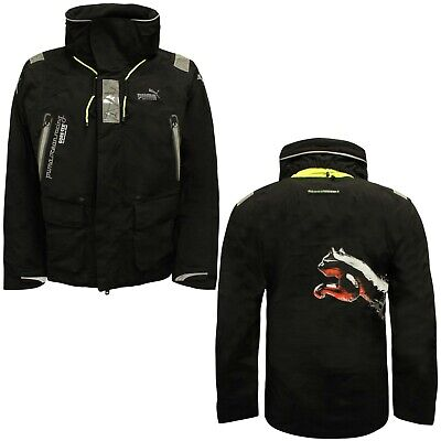 Puma Gore Offshore PRO Mens Jacket Sailing Coat Black 508500 01 A112E