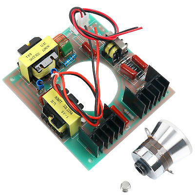60w 40khz 110v Ultrasonic Cleaning Kit Transducer Cleaner Power Driver Board