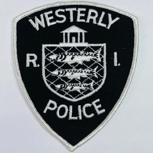 Westerly Police Rhode Island RI Patch (A4-A)
