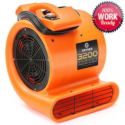12 Air Mover Carpet Dryers 2 Speed 12 Hp Industrial Floor Blower Drying Fan