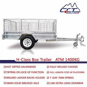 MARCH SPECIAL PACKAGE Braked 8x5 ATM1400kg Box Trailer Rocklea Brisbane South West Preview