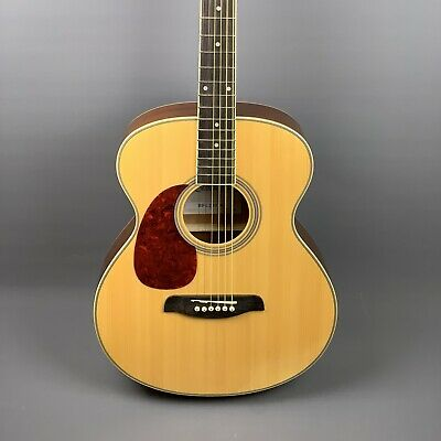 NEW: Brunswick BFL200 Grand Auditorium Acoustic Guitar 🎸Natural🎸 *Left Handed*