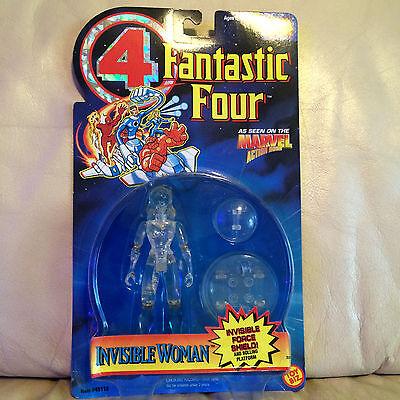 Marvel Comics Fantastic Four Invisible Woman Action Figure - 1995 ToyBiz NIP!!