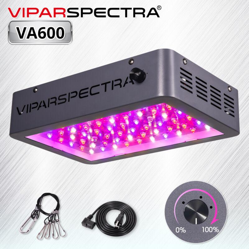 VIPARSPECTRA Dimmable 600W LED Grow Light Full Spectrum Indoor Plants Veg Flower