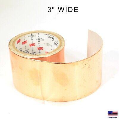 3m 1181 3 X 6 Copper Foil Rf Emi Shielding Conductive Adhesive Tape