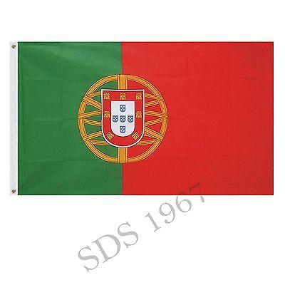 PORTUGAL PORTUGUESE FLAG 5FT X 3FT
