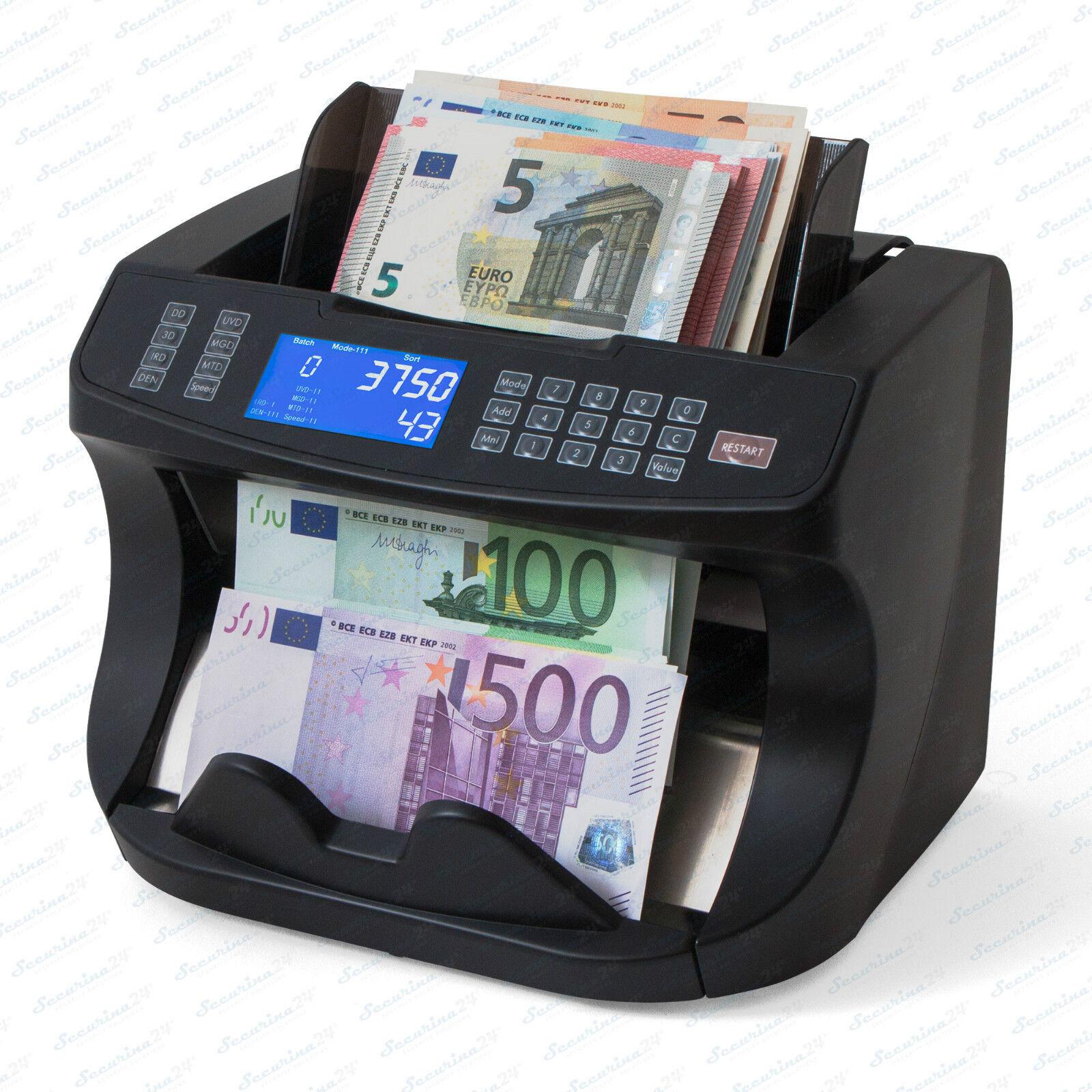 Geldzählmaschine Geldzähler Wertzähler Banknotenzähler Geldprüfer Geldprüfgerät
