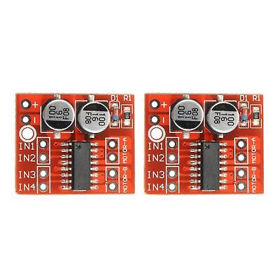 3 X 1.5a Mini Dual Channel Dc Motor Driver Module Pwm Speed Control Beyond L298n