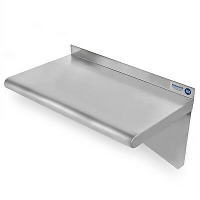 Commercial Stainless Steel Restaurant Kitchen Shelf Wall Shelving - 18 X 24