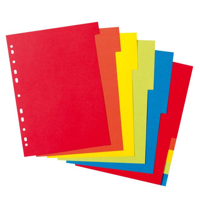 Register A4 10-teilig  farbig von Herlitz,