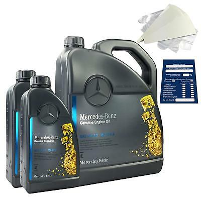 Original Mercedes-Benz Motoröl 7 Liter 5W40 229.5 inkl. Trichter + Anhänger 7L online kaufen