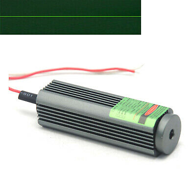 532nm 50mw 3-5vdc Green Laser Diode Module Line Locator 25x75mm W Glass Lens