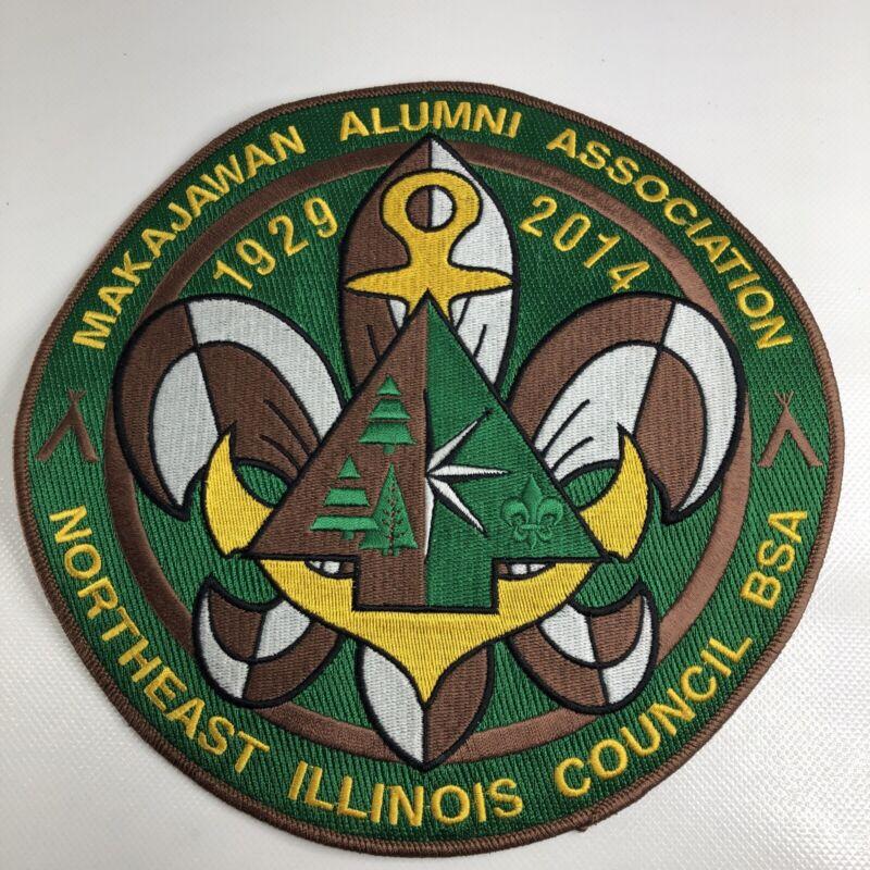 Makajawan Alumni Association Northeast Illinois Council BSA 1929 2014 Camp Patch