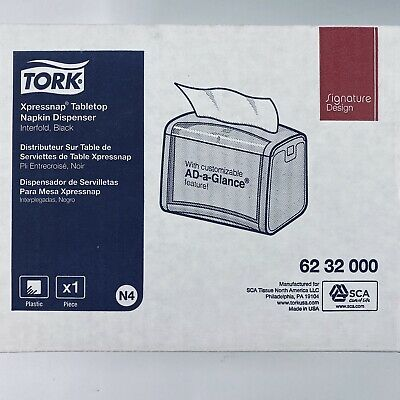 Tork Xpressnap Signature Tabletop Napkin Dispenser N4 6232000