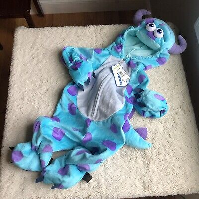 Baby Monsters Inc Costumes (Disney Sully Monsters Inc. 9-12 months Baby Children Costume)