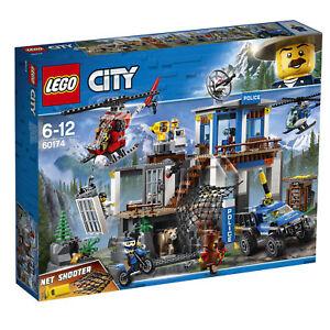 LEGO® City 60174 Hauptquartier der Bergpolizei, 663 Teile, ab 5+G117 Jahre