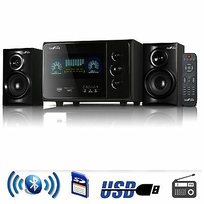 BEFREE 2.1 CHANNEL SURROUND SOUND BLUETOOTH HOME HOUSE OFFICE SPEAKER SYSTEM USB