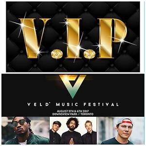 VELD 2017: 2 DAY VIP ADMISSION