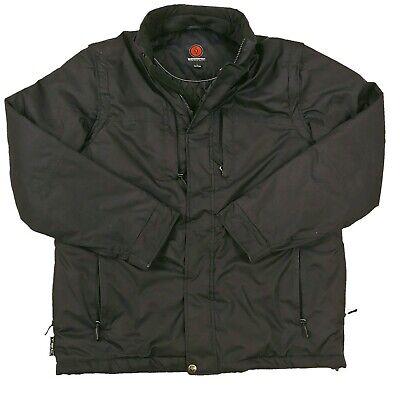 SCOTTeVEST TEC Mens Multiple Pocket Travel Vest Removable Sleeves Black Size -