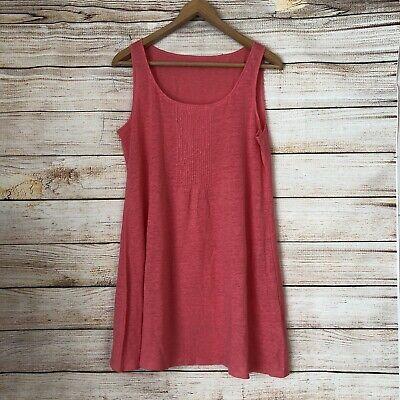 NWOT Eileen Fisher Linen Pintuck Tunic/Dress. Size Medium
