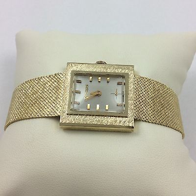 14K YELLOW GOLD LONGINES MENS OR LADIES WATCH